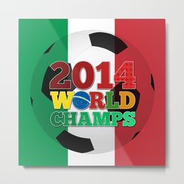 2014 World Champs Ball - Italy Metal Print