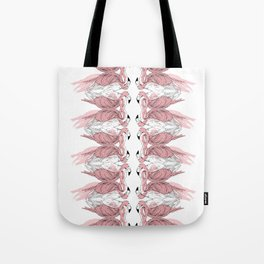 Flamingos Tote Bag