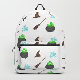 Witch's Pattern Backpack