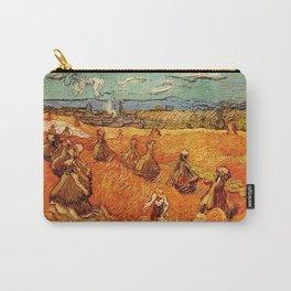 Van Gogh, millstones  – Van Gogh,Vincent Van Gogh,impressionist,post-impressionism,brushwork,paintin Carry-All Pouch