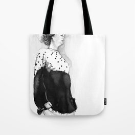 Fashion Illustration – Hana Cha S/S 2013 Tote Bag
