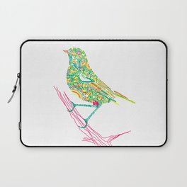 Birds sitting on branch Laptop Sleeve