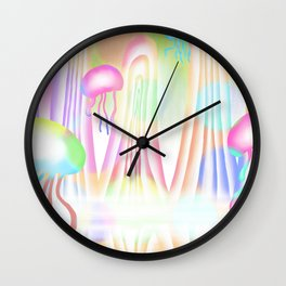 Strolling in the world (I) Wall Clock