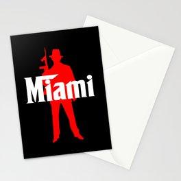Miami mafia Stationery Cards