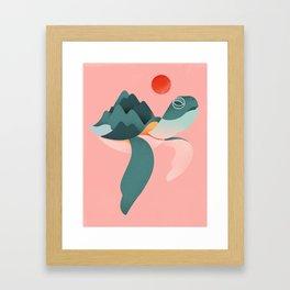 Archelon Framed Art Print