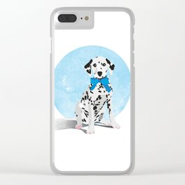 Dalmation Senstation Clear iPhone Case