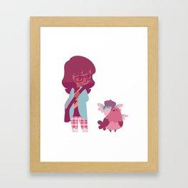 Birbs Framed Art Print