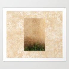 Rising green Art Print