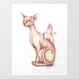 Yeehaw! Art Print