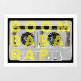 BOOM BABA RAP Art Print
