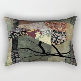 Aviary II Rectangular Pillow