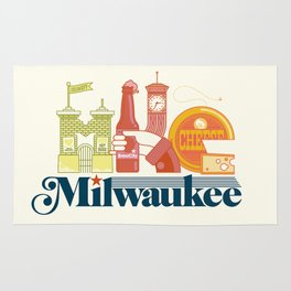 MKE ~ Milwaukee, WI Rug