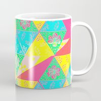 transparent Mugs featuring Transparent Triangle by Lillian Cassidy