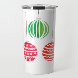Christmat ornaments Travel Mug