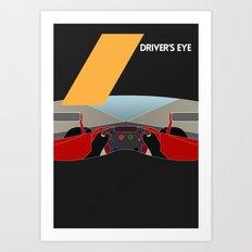 Drive - Driver's Eye Art Print