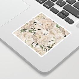 Peonies Pattern Sticker