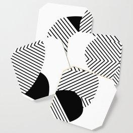 Black & White Coaster