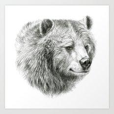 Grizzly Bear G2012-059 Art Print