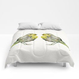 Little Yellow Birds Comforters