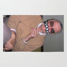 Cosmic Moustache Comics Poster Rug