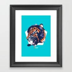 DJ Wildcats Framed Art Print
