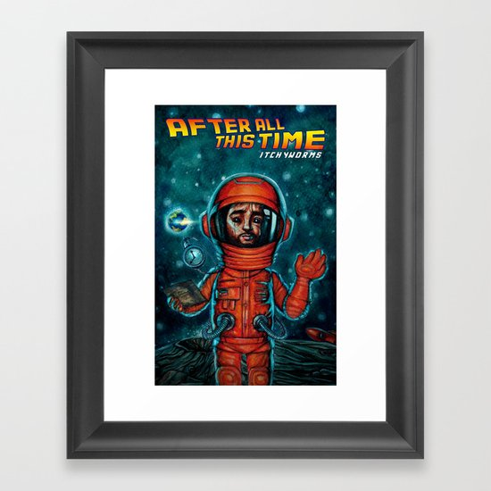 After All This Time Framed Art Print