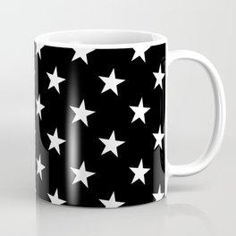 Little Stars (White & Black Pattern) Coffee Mug