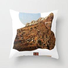 rock ten Throw Pillow