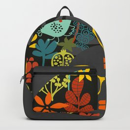 Afro Diva : Sophisticated Lady Gray Backpack