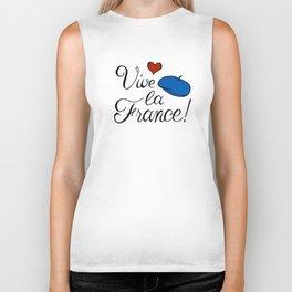 Vive la France! Biker Tank