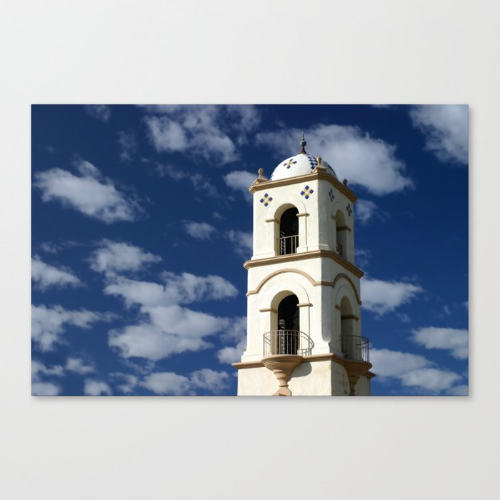 Ojai Post Office Tower Canvas Print