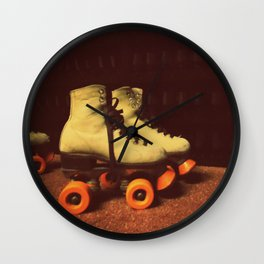 Skate City Wall Clock