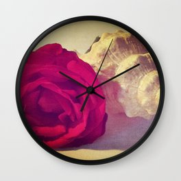 The red shell Wall Clock