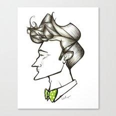 Bow Tie Guy Canvas Print