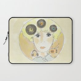 Thoughts at 45 rpm Laptop Sleeve