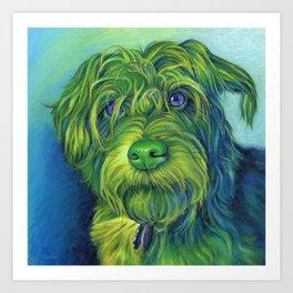 Green George Art Print