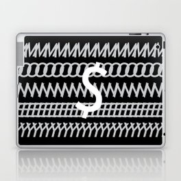 All about Money Typography Design Laptop & iPad Skin