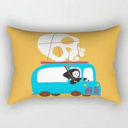 Death on wheels Rectangular Pillow