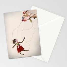 Cutting Ties Stationery Cards