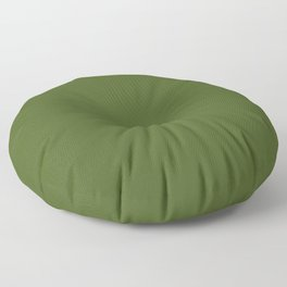Dark Moss Green - solid color Floor Pillow