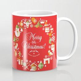 The Circle of Christmas Stuffs Coffee Mug