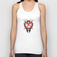 the xx Tank Tops featuring xx by PROJJETA