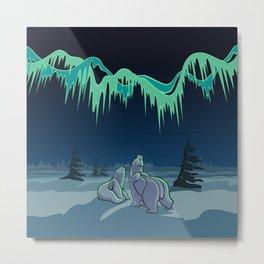 Arctic Art Gifts Metal Print