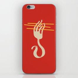 Fork & Pasta iPhone Skin