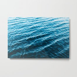 Wanderful Waves Metal Print
