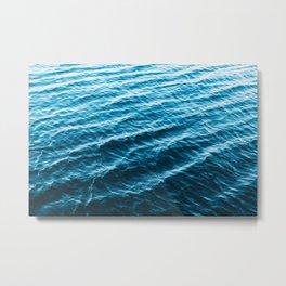 Wanderful Waves Metal Print