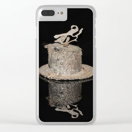 """""""Reflections"""" - Metal Sculpture - Bug Clear iPhone Case"""