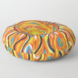 Summer Sun Floor Pillow