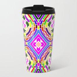 Modern Colorful abstract Pattern SB84 Travel Mug
