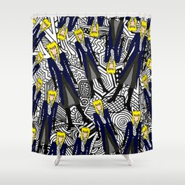 Heroes Fashion 11 Shower Curtain